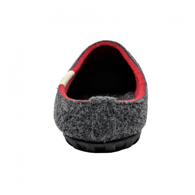 Zimní pantofle Gumbies Outback Charcoal Red